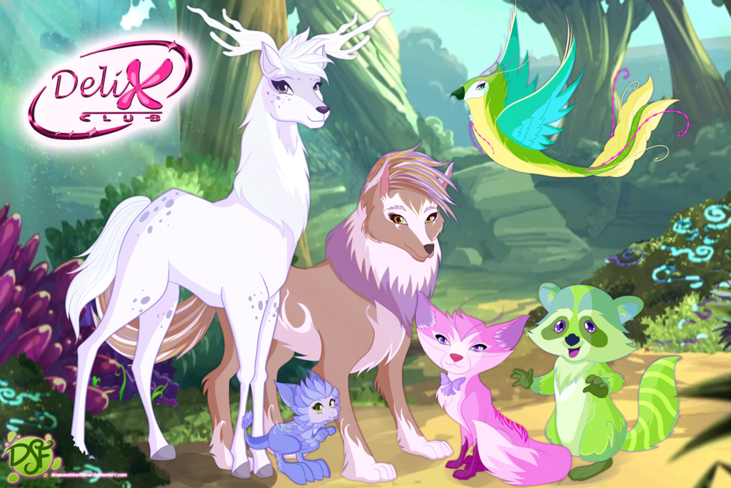 Winx Delix Club Magic Pets By Dragonshinyflame Winx Club