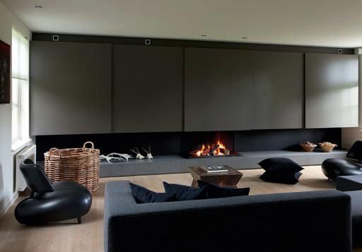 Beau Modern Architectural Fireplaces From MetalFire » CONTEMPORIST