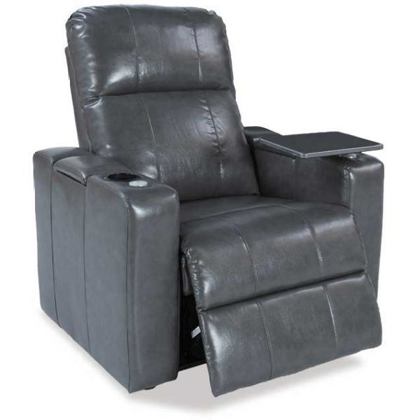 Picture of Larsen Gray Power Recliner wit