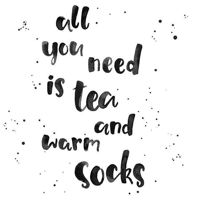 Warm socks is all you need