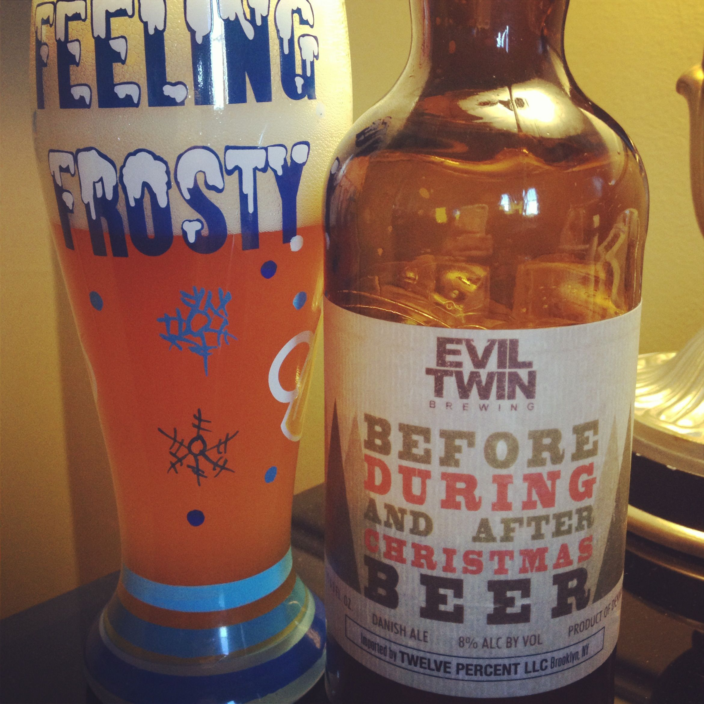 Evin Twin Brewing Before, During and After Christmas Ale - 8% abv