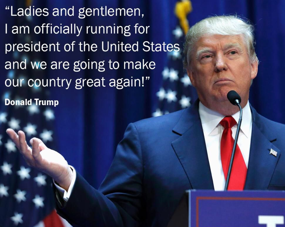 Donald Trump Quotes Ladies And Gentlemen  Donald Trump  President Donald Trump