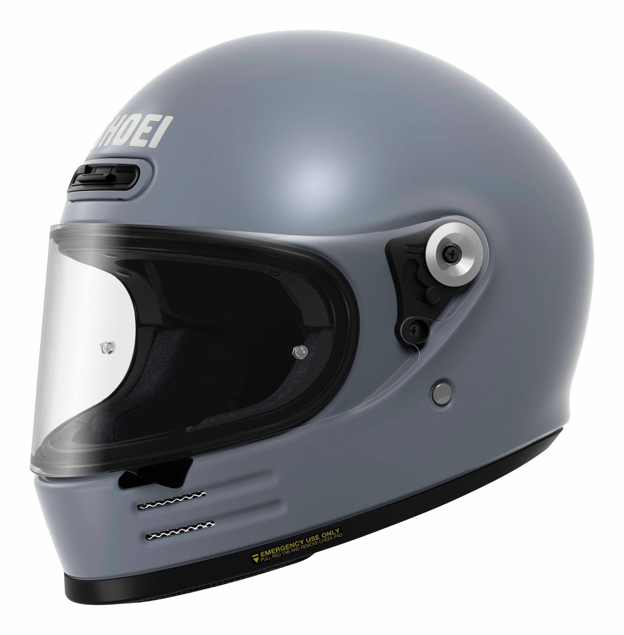 Shoei Glamster Basalt Grey Ece Retro Motorcycle Helmets Helmet Retro Motorcycle