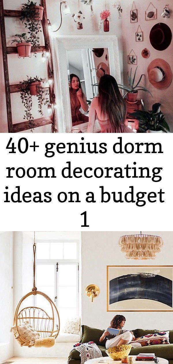 40+ genius dorm room decorating ideas on a budget 1 #rusticbedroomfurniture