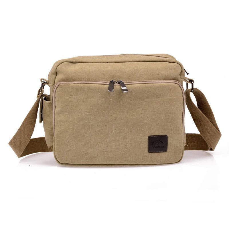 High Quality Multifunction Mens Canvas Bag