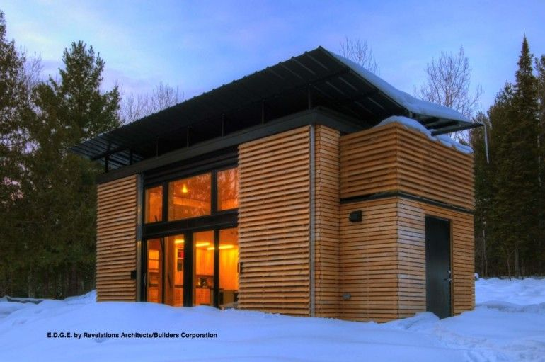 The Edge A Small Cabin In Wisconsin Prefab Homes Small House