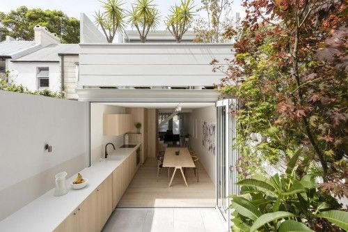 terraced house backyard ideas Victorian home renovation design ...