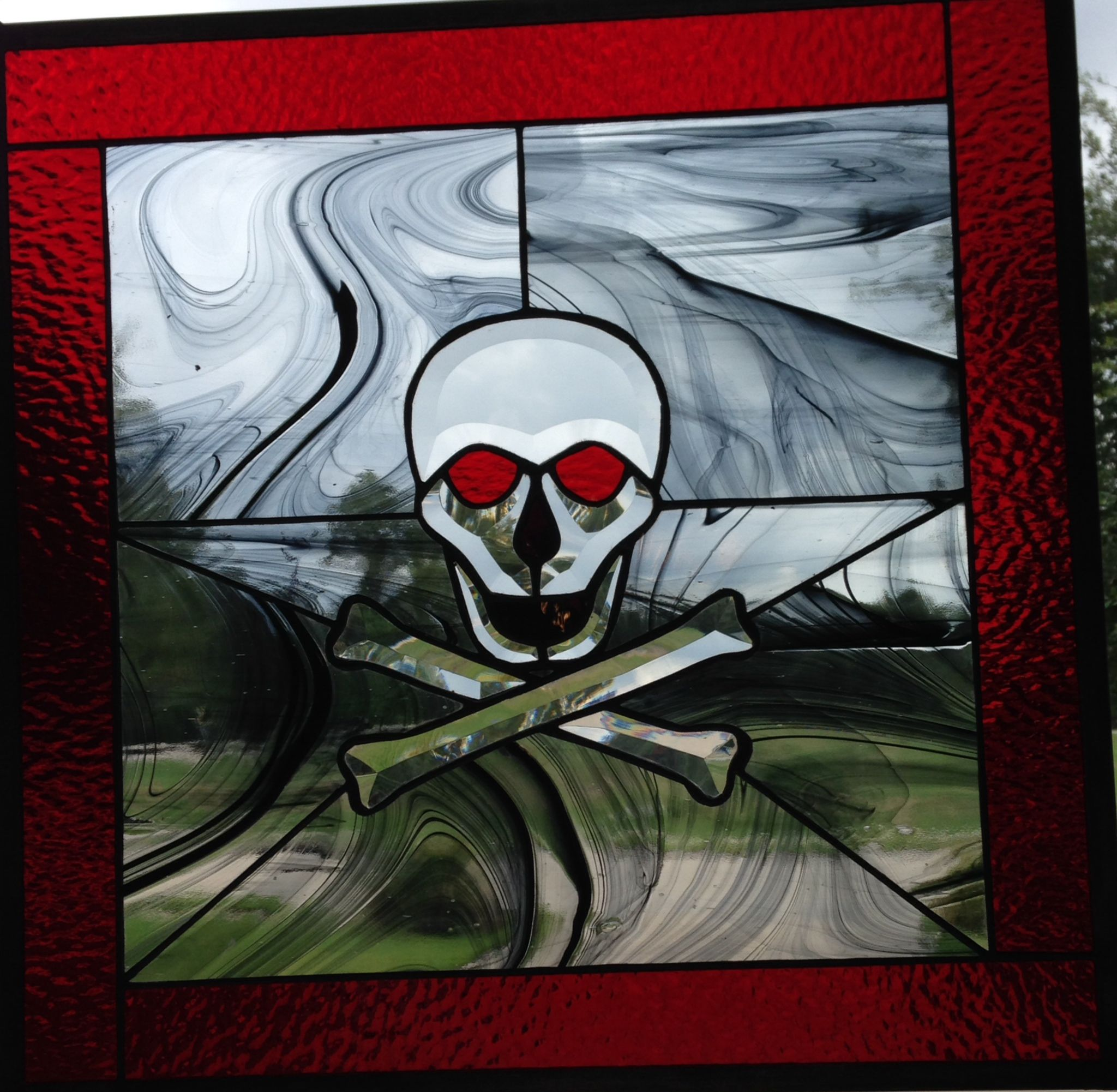 skull and cross bones stained glass allie kay u0027s glass u0026 more