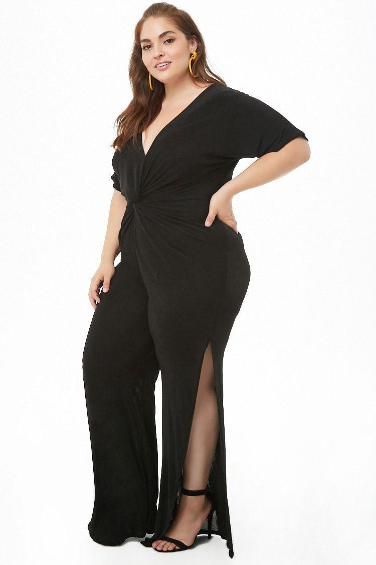 48+ Plus size jumpsuits for wedding guest ideas