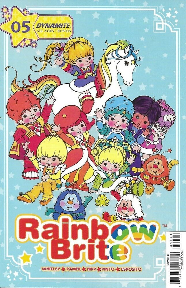 Rainbow Brite Comic Issue 5 Limited Variant Modern Age