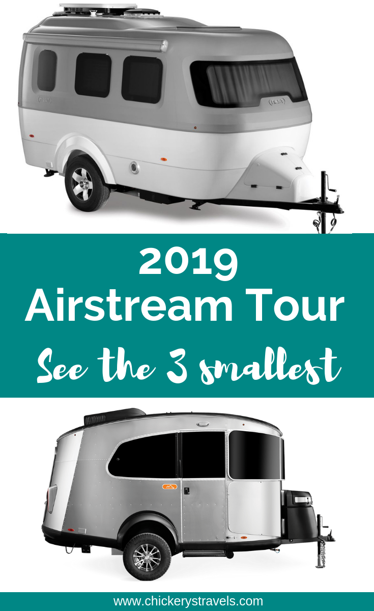 Take a look at the interior of the 3 smallest Airstream