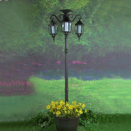 4 Foot Outdoor Solar Powered Lamp Post With: Pin By Our Family's Boards On My Inspiration Board