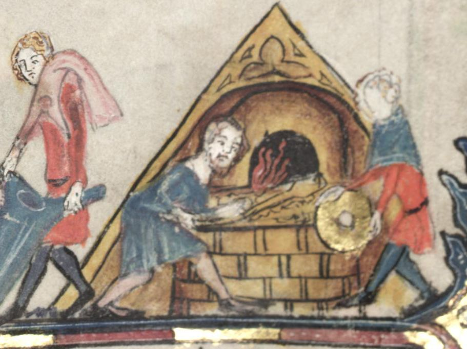 Bakers - From The Romance of Alexander, 1338-1344 (TAG: LINK
