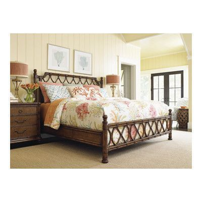 tommy bahama home bali hai panel configurable bedroom set bedroom rh pinterest com