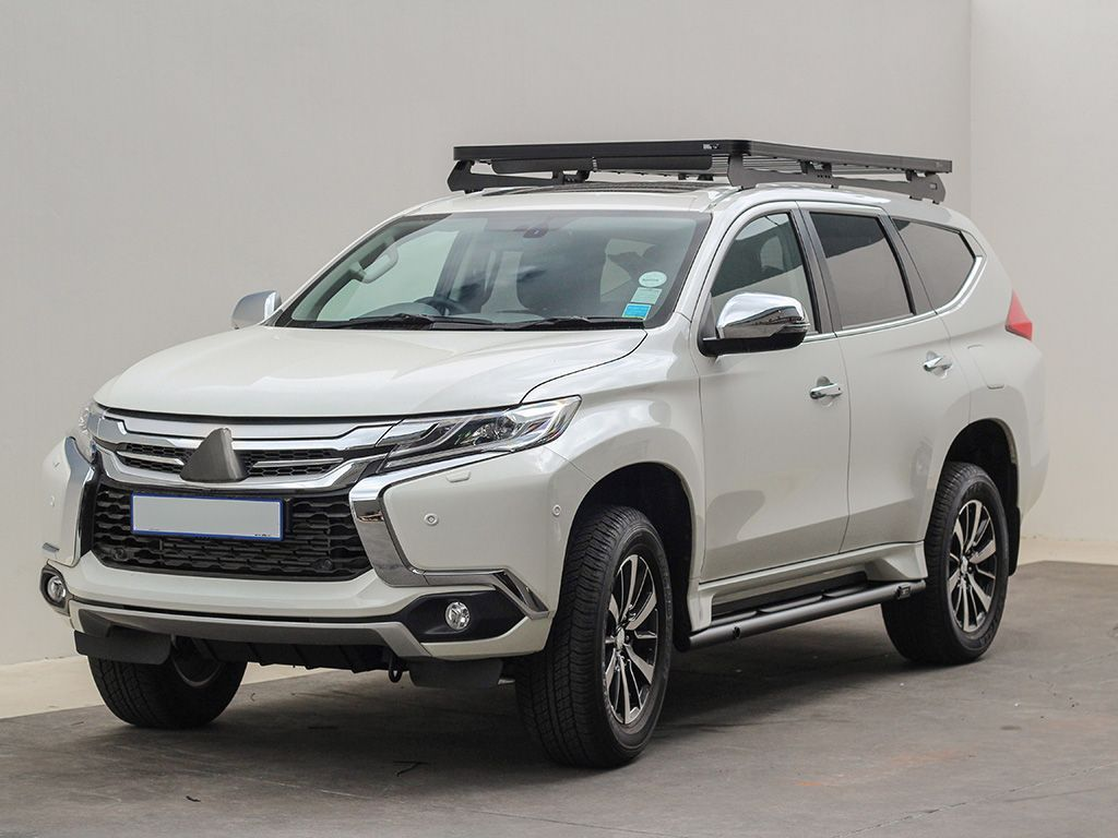 Mitsubishi Pajero Sport Qe Series Slimline Ii Roof Rack Kit By Fro Select 4wd Em 2020 Pajero Sport Camionete Carros