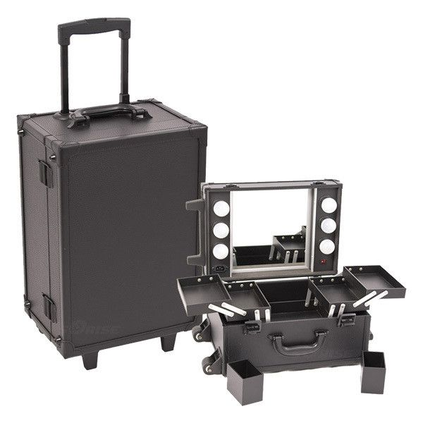 Just Case All Black Makeup Studio With Light C6201 In 2018