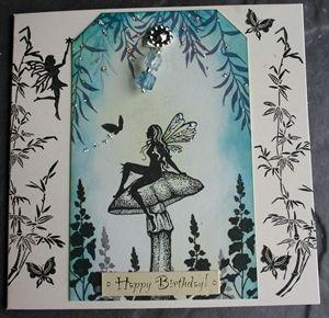 toadstool fairy. Lavinia Stamps