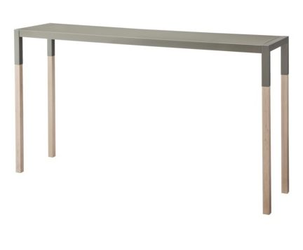 Blu Dot Gray Dipped Console Table Target Too By