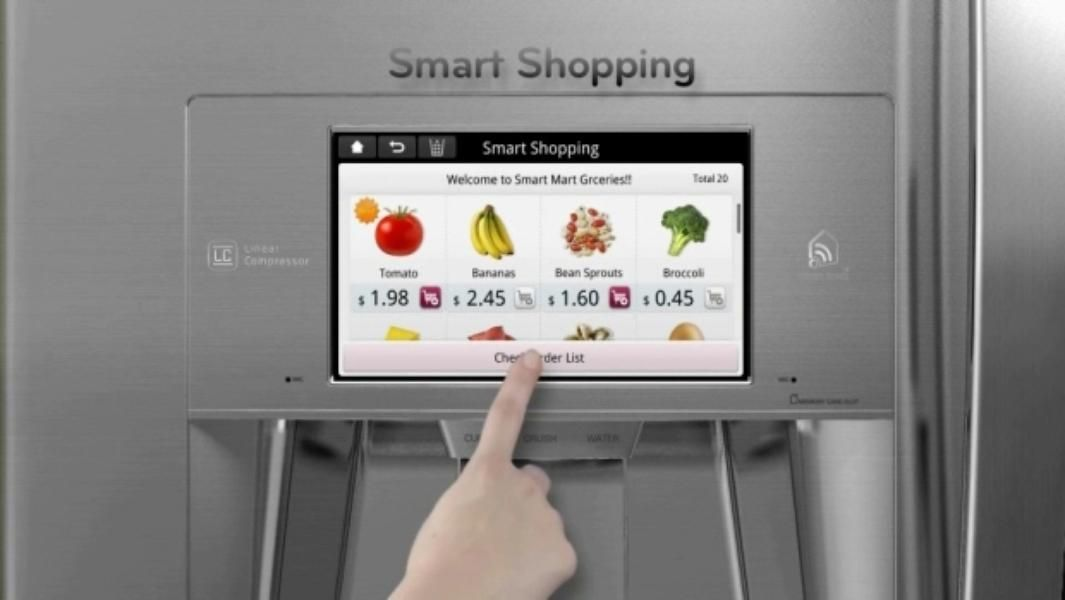 Smart Kitchen Appliances Smart Fridge Smart Kitchen Smart Appliances