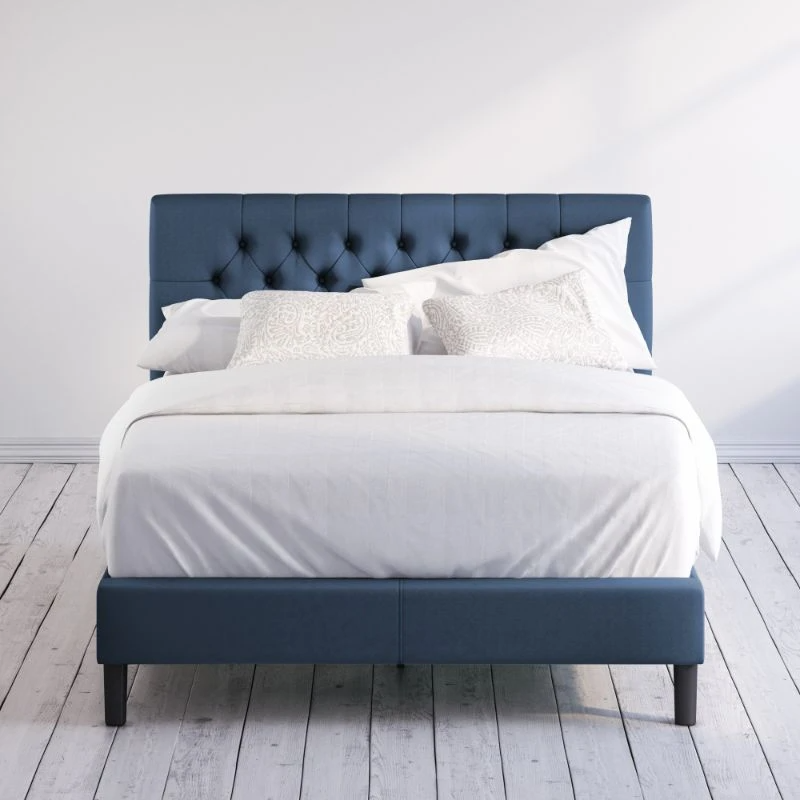 Misty Upholstered Platform Bed Frame Zinus in 2020