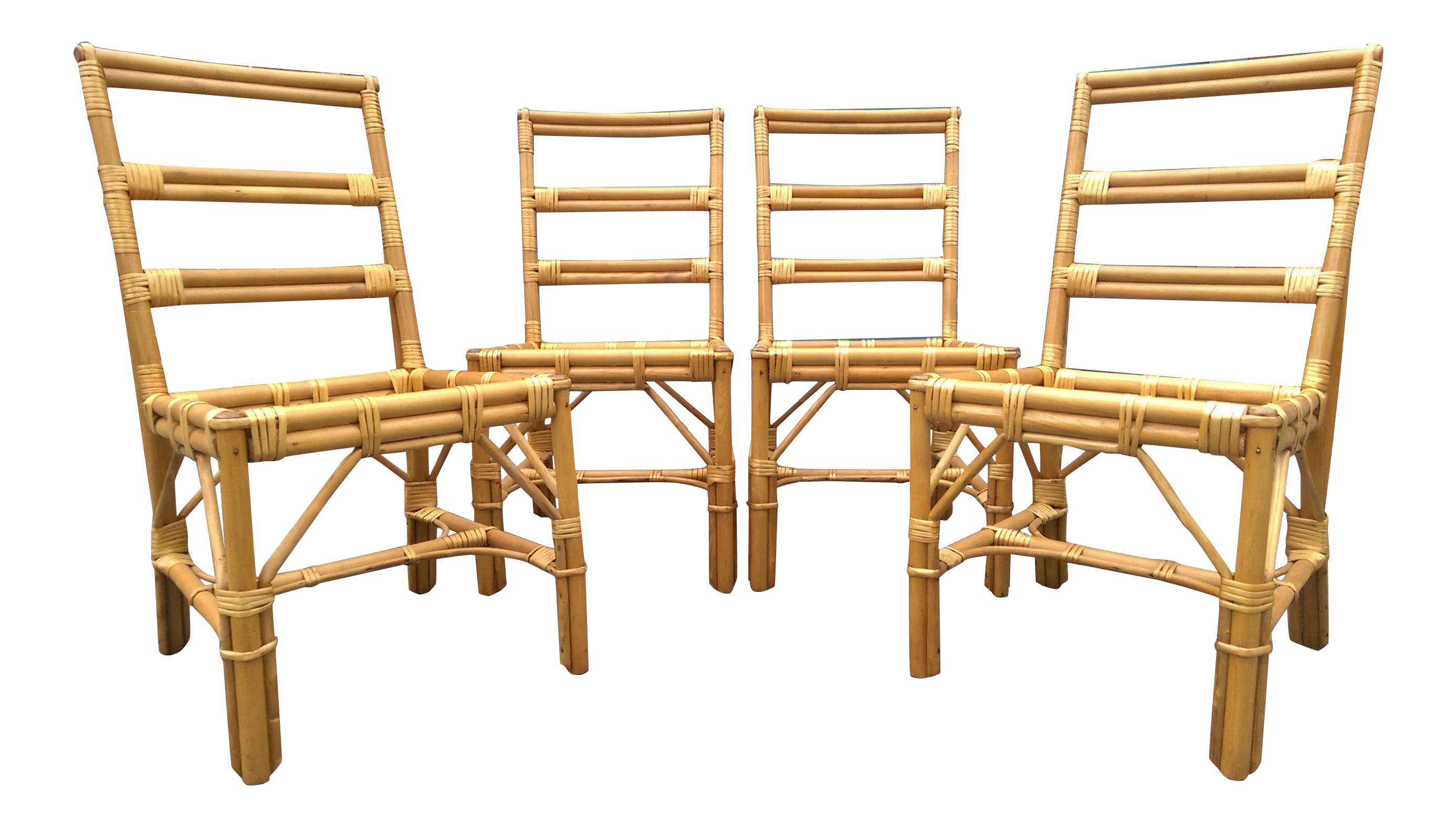 Brilliant Super Cute Set Of 4 Rattan Dining Chairs In Very Nice Ocoug Best Dining Table And Chair Ideas Images Ocougorg