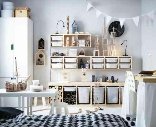 Idées en images meuble de rangement chambre enfant | Kids rooms, Art ...