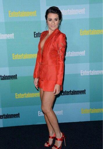 Lea Michele at Comic Con party