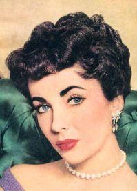 Elizabeth Taylor 50s Hairstyles Vintage Hairstyles Vintage Short Hair