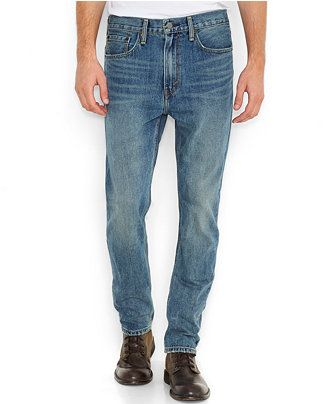 Levi's 522 Slim Tapered-Fit Jeans, Borrowed - Jeans - Men - Macy's