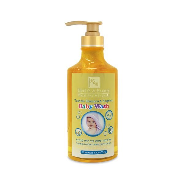 Tearless shampoo & Soapless Baby Wash was created with a new innovative technology for the gentle care of baby's skin and hair.This multipurpose product cleans, nourishes, softens and protects...