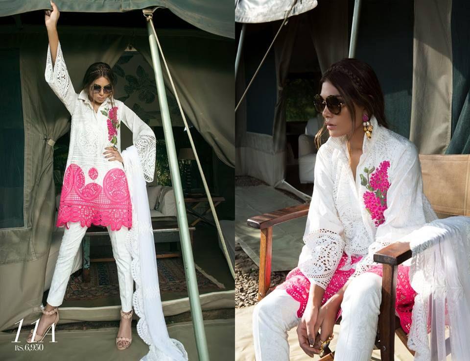 Sana Safinaz Best Summer Lawn Dresses Latest Collection 2018-2019 ...