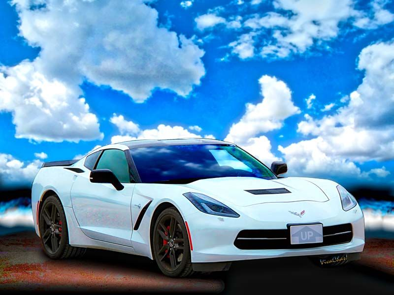 A Day at the Beach with the C-7 Corvette Stingray is a day well spent! - Seems everyone wants to stop by and share their personal Vette Story - and that's a Good Thing! This Stingray illustrates the 7th in the Series on The Rise of Corvette from VivaChas Hot Rod Stories! - Read 'em All! ~;0) VivaChas!