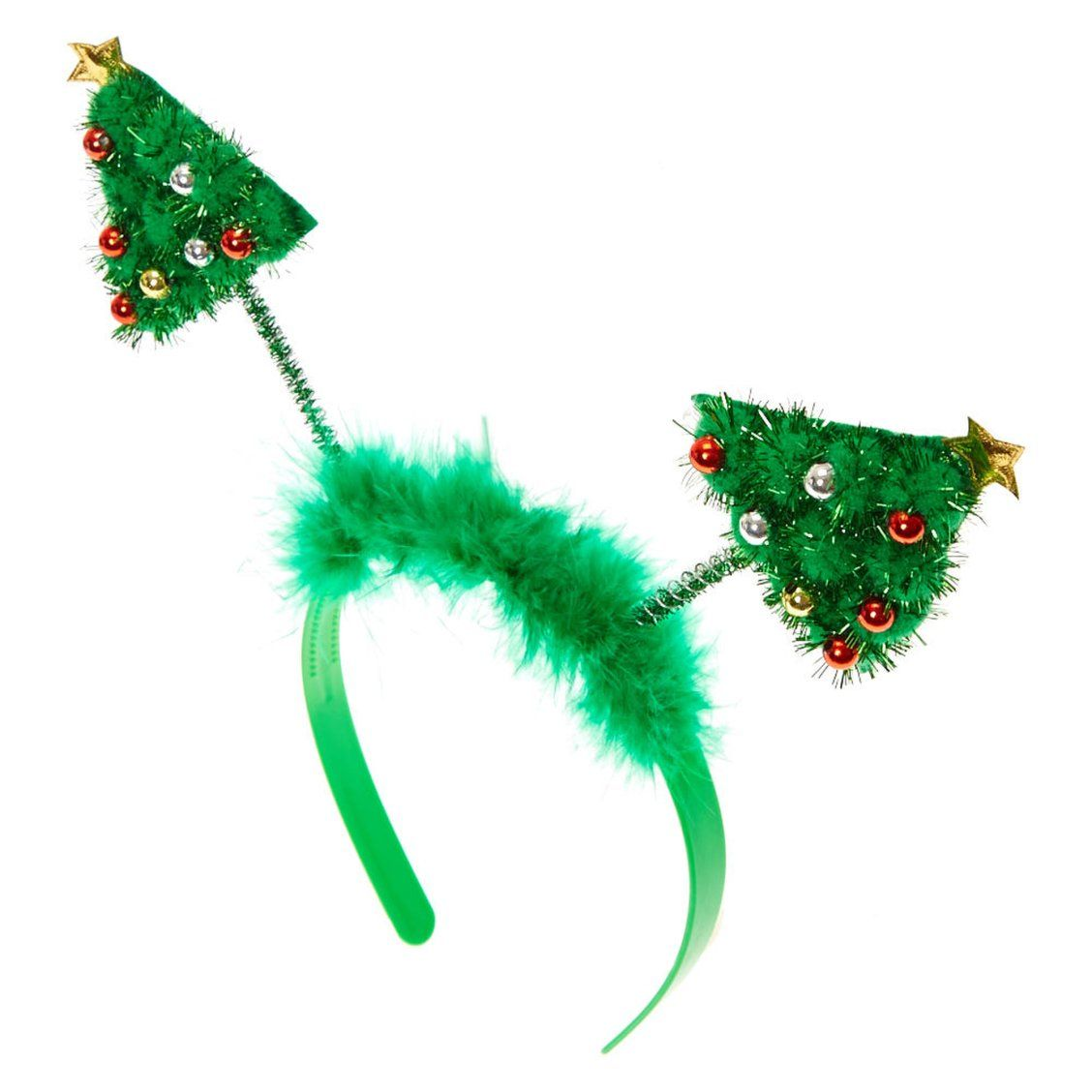 Christmas Tree Deeley Bopper Headband Bop To The Top In Funky Holiday Fashion This Christmas Tree Hello Holiday Fashion Accessories Jewelry Holiday Fashion