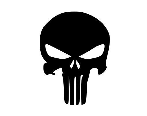 5b013b3e4f9b3 Punisher Book folding pattern and FREE Tutorial - The Punisher Skull ...