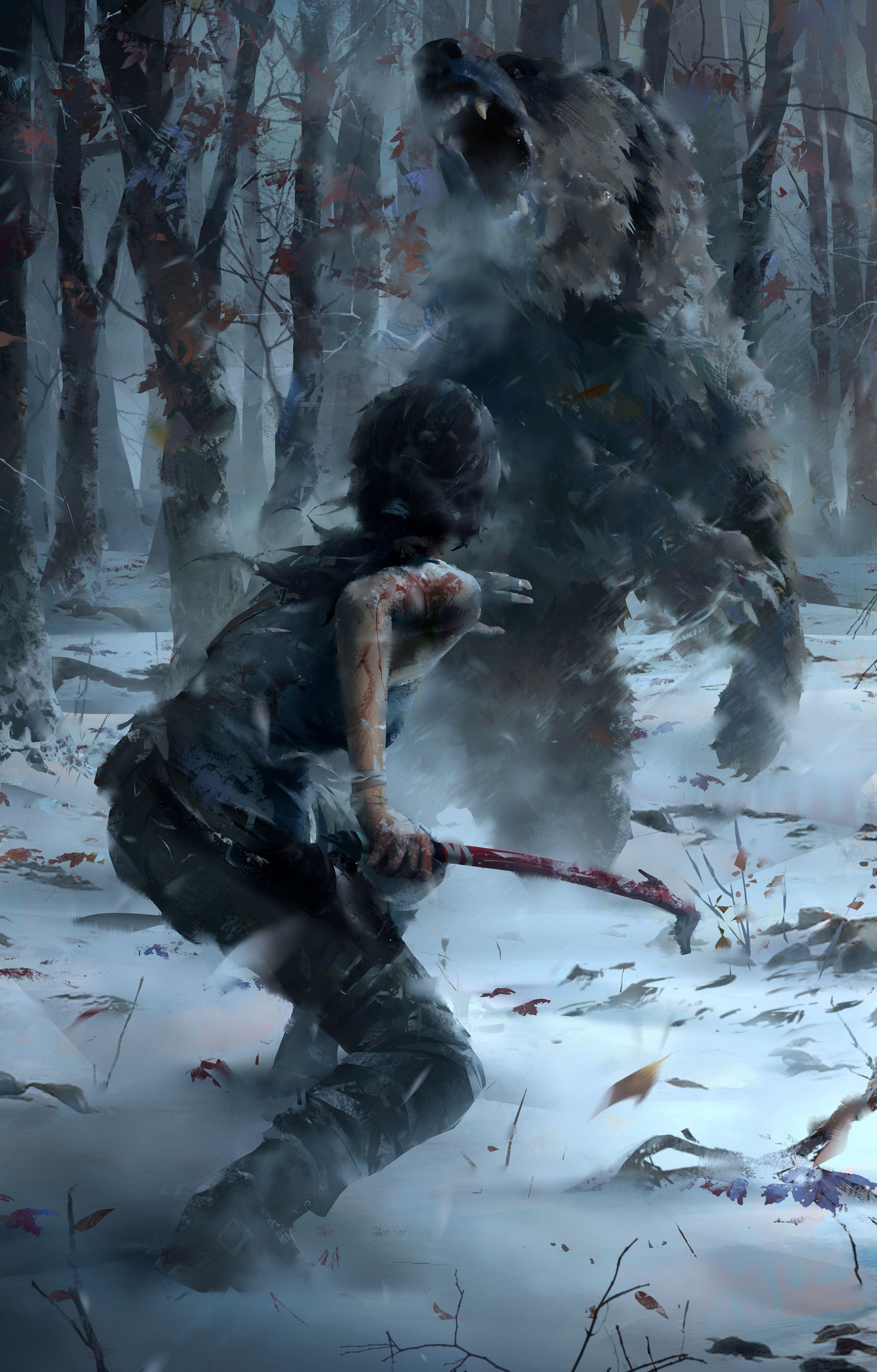 Lara Croft final concept art - Page 2