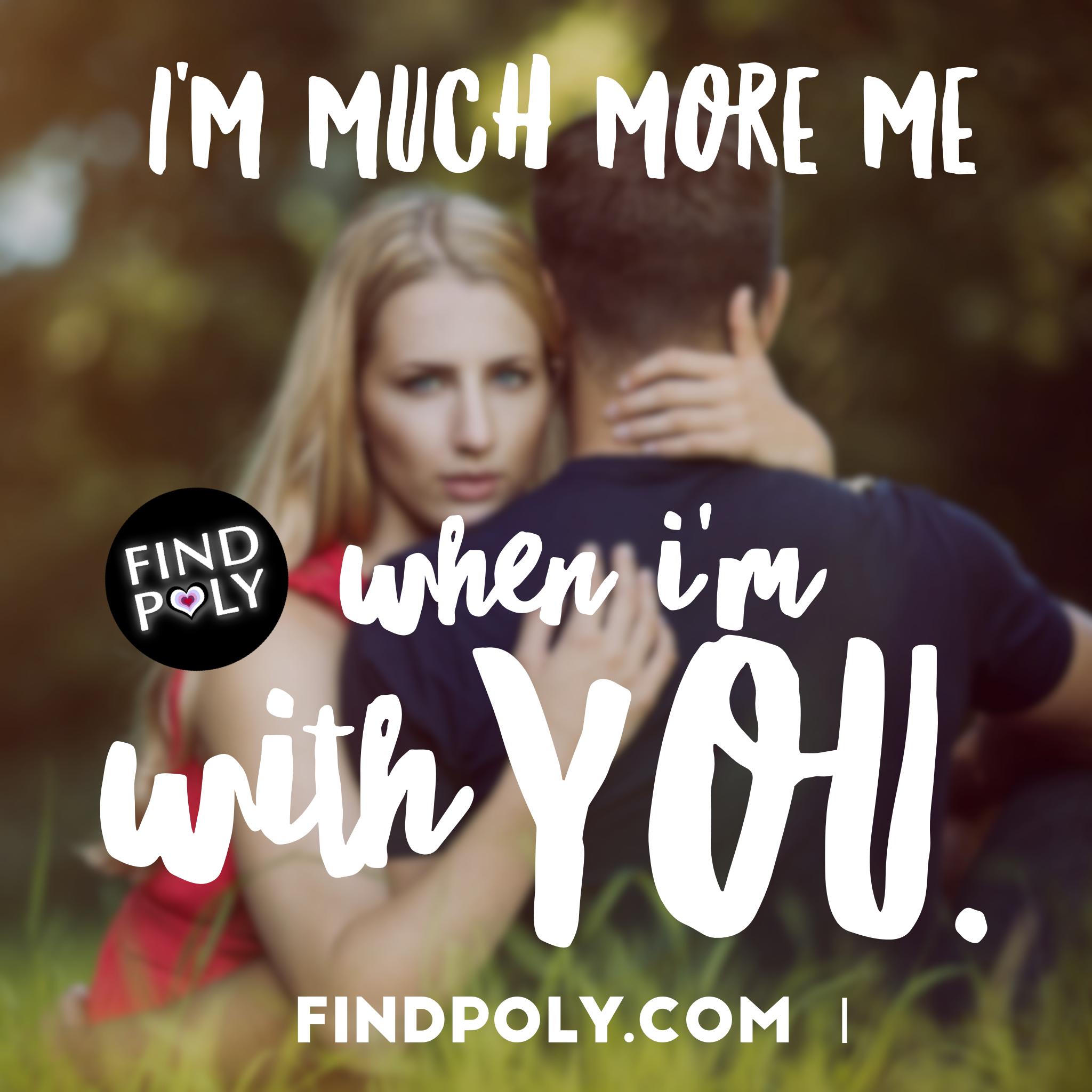 Monogamous dating polyamorous lyrics