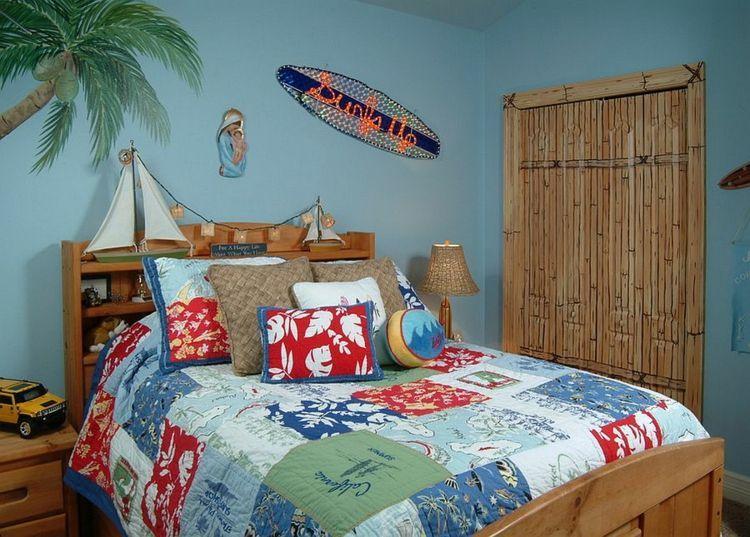 Idée déco chambre enfant la chambre enfant tropicale