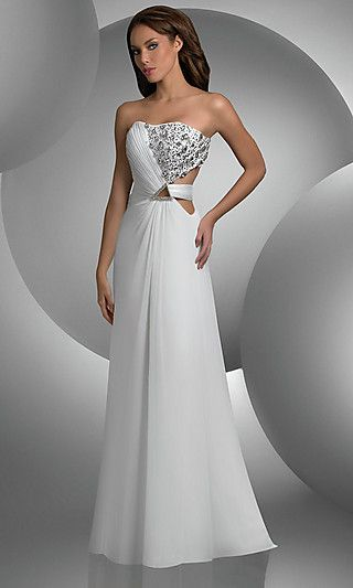 Great twist for a wedding gown, Would really make a statement ...