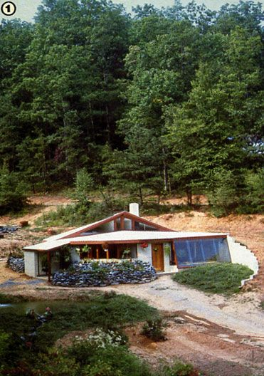 Building An Earth Sheltered Home Part Ii Casas Autosustentables
