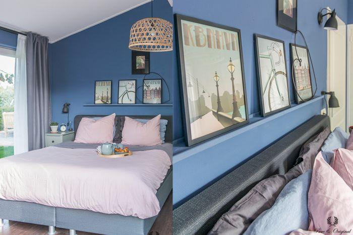 Slaapkamer inspiratie in blauw in 2019  Blog  Pure