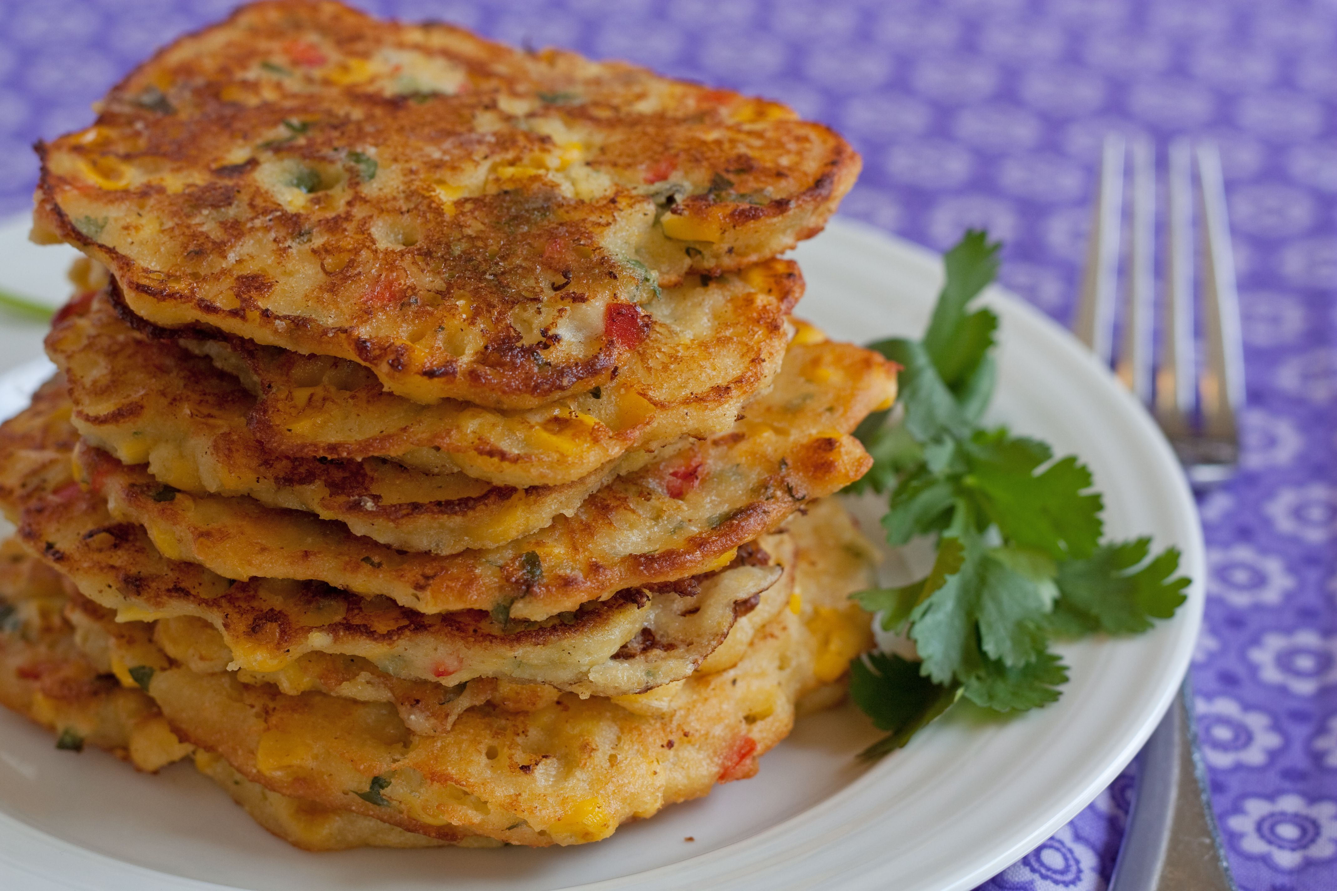 Corn cakes an easy and delicious recipe from corn