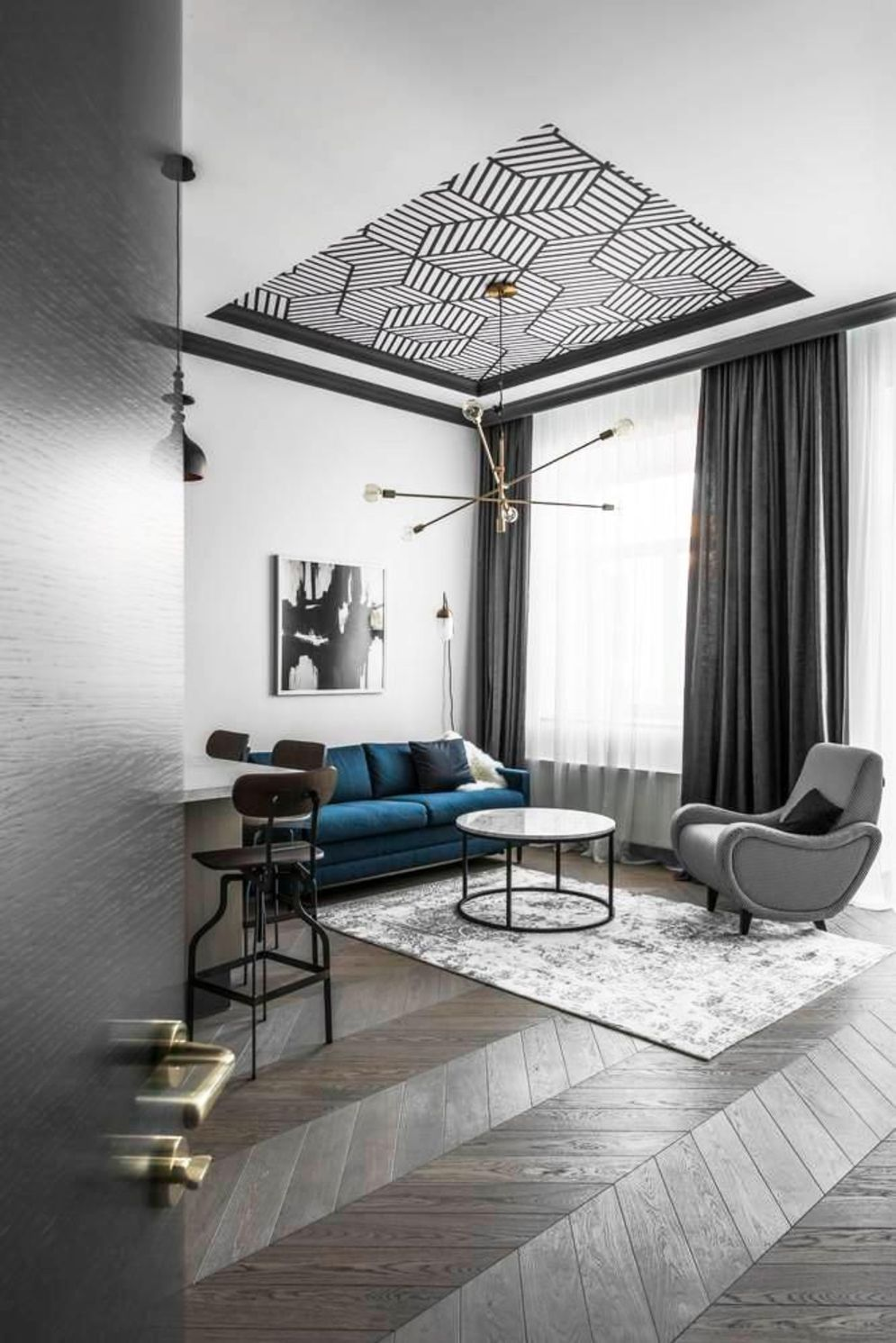 Aesthetic False Ceiling Ideas Gracing Beautiful Decor of ...