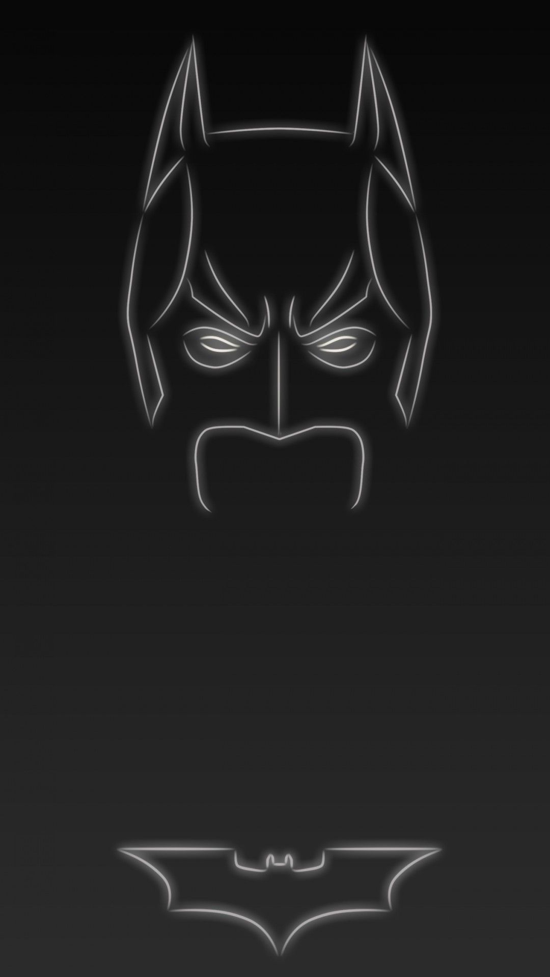 Dark Knight The Batman Tap To See More Superheroes Glow With Neon Light Apple IPhone