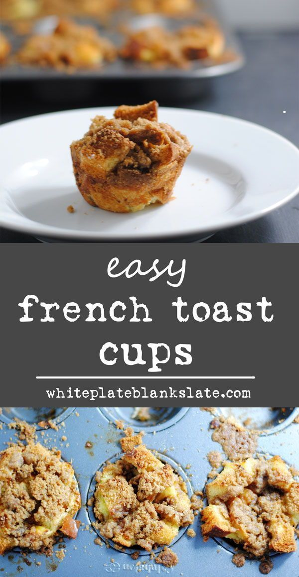 French toast cups | Recipe | Leftover bread recipes ...