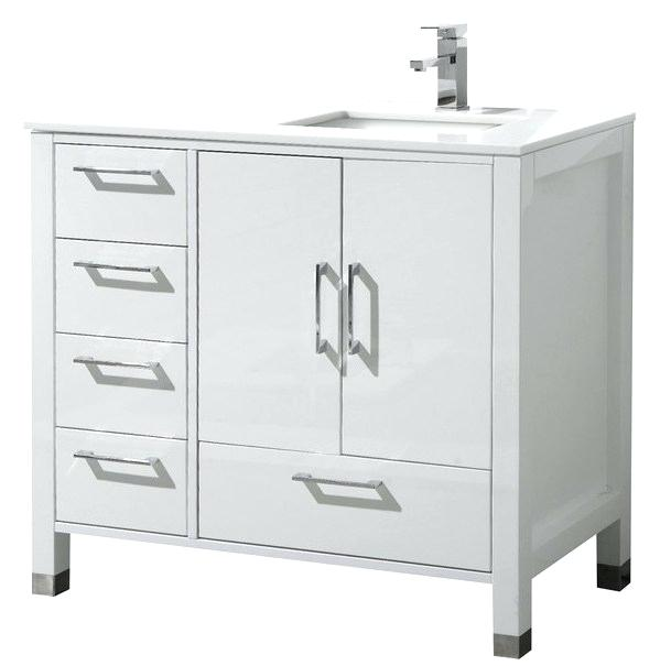 A Comprehensive Overview On Home Decoration In 2020 White Vanity Bathroom Contemporary Bathroom Vanity White Vanity