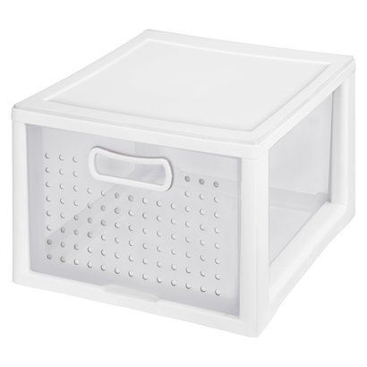 Sterilite Medium Modular White Storage Drawer Modular Storage Storage Tubs Storage