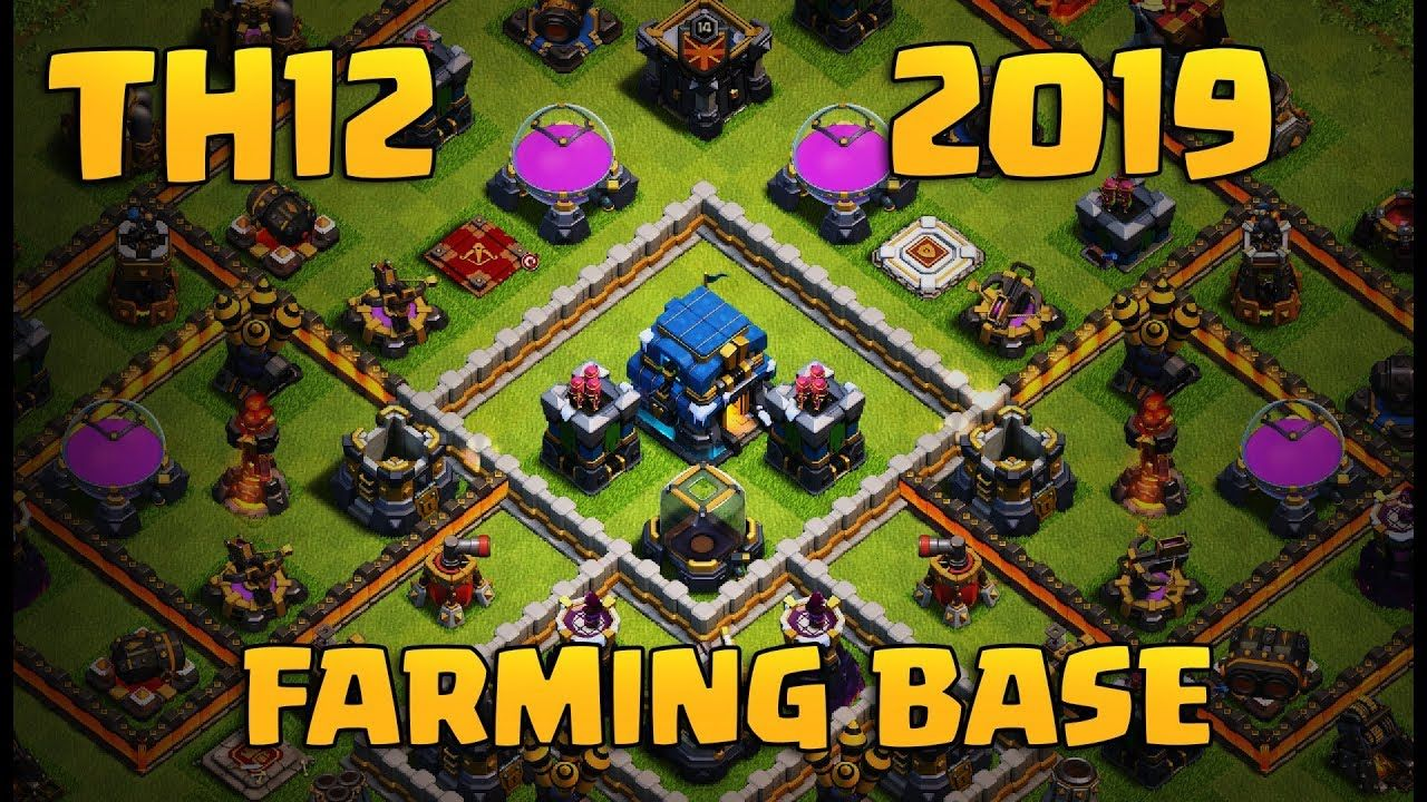 NEW TH12 FARMING BASE | CoC Town Hall 12