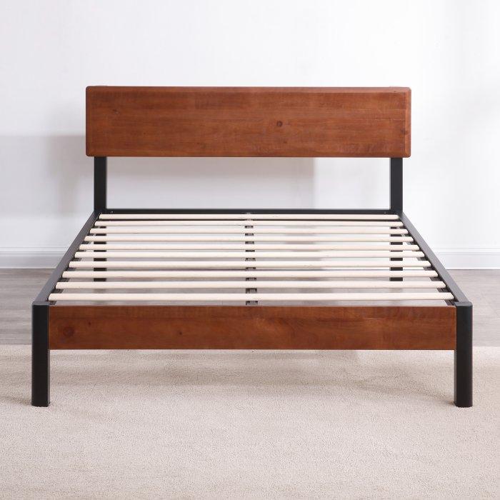 Classic Brands Portland Platform Bed Platform bed frame
