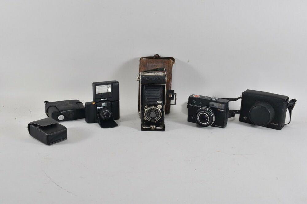 Ebay Sponsored A19x44 3x Fotokamera Kodak Junior 620 Agfa Minox