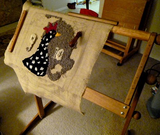 this is a great rug hooking frame tom anderson rug hooking standing frame